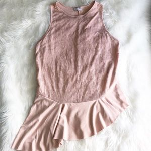 Zara Collection • Blush Nude Top